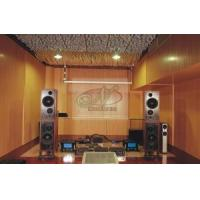 Sound Insulation Melamine Laminated Water Resistant MDF Grooved Wall Panels/Panelling
