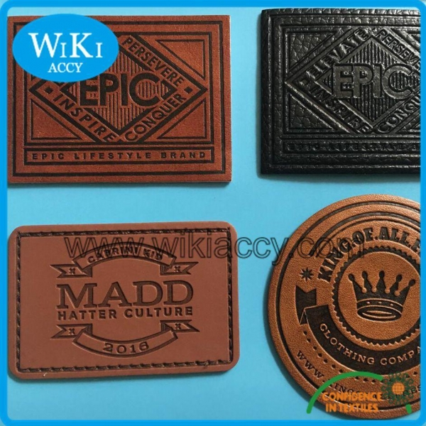 Quality Garments Faux Leather Patches for sale