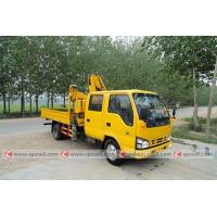 Wholesale ISUZU 2ton knuckle boom crane truck for sale from china suppliers