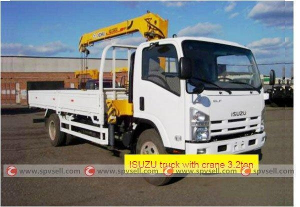 Quality High quality 700P Isuzu boom truck for sale for sale