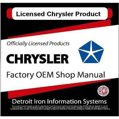 Quality 1963 Chrysler Shop Manuals on CD ROM for sale
