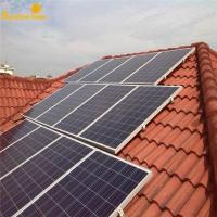 Buy cheap Sunshinepower high quality 3kw home use solar power system from wholesalers