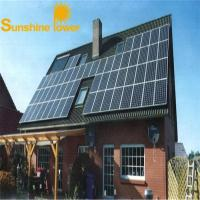Buy cheap AC220V/380VAC top quality Home use solar energy home system from wholesalers