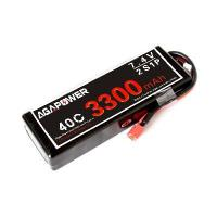 Wholesale RC Car Lipo Battery AGAC3300/40-2S1P from china suppliers