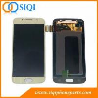 Wholesale China Replacement Parts for Samsung S6 LCD With Gold Color from china suppliers