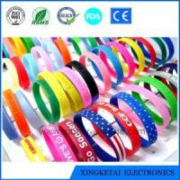 China Customized High Quality /Eco-friendly Cheap Silicone Wristband on sale