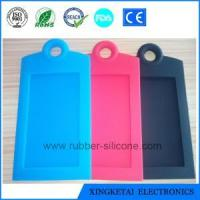 China Custom 3D Soft Silicone Luggage Tag Rubber Bag Tag PVC Luggage Tag on sale