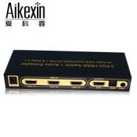 Buy cheap 3X1 HDMI Switch 3D Support 1.4V 4KX2K from wholesalers