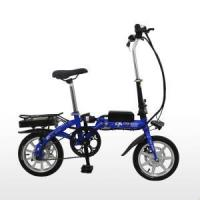 China 14 Inch Magnesium Integrated Wheel Small Folding Electric Bike on sale
