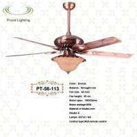 Wholesale 56 inch ceiling fan with one light PT-56-113 from china suppliers