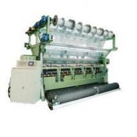 China Double Needle Bed Raschel Blanket Knitting Machine For Spacer Fabrics and Carpet on sale