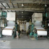 Wholesale 2400mm Double Dryer Multi Cylinder Paper Making Machine of A4 Paper Machinery from china suppliers