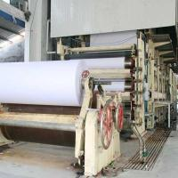 Wholesale 1880mm 10T/day writing paper making machine from china suppliers