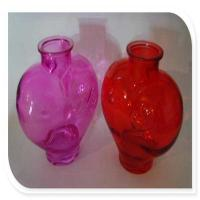 China Cosmetic bottles Colored glass perfume bottle manufacture on sale