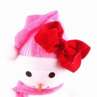 China Christmas Wholesale Hair Bows For Girls on sale