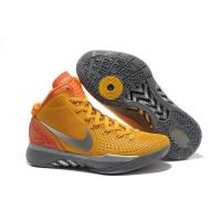 China Cheap Blake Griffin Shoes Nike Zoom Hyperdunk 2012 Orange Silver For Sale on sale