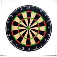 Buy cheap 18inches Competition Quality Bristle Blade Wire Dartboard from wholesalers