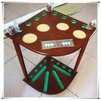Wholesale High Quality Wooden Billiard Cue Rack With Scoreboard from china suppliers