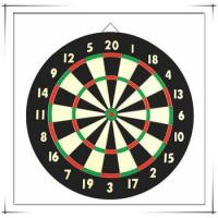Buy cheap Standard Size Paper Dartboard Target from wholesalers