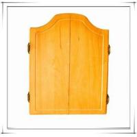 Buy cheap MDF/Solid Wood Dartboard Cabinet For 18inch Dartboard from wholesalers
