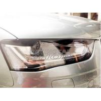 Wholesale Real Carbon Fiber Head Light Covers Eyelids Eyebrows For Audi A4 B9 2013UP from china suppliers