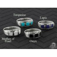 Buy cheap Limited Silver ornate trio band ring from wholesalers