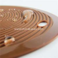 China Anti-slip Silicone Mat Coaster on sale