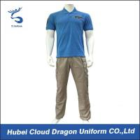 Buy cheap 65% Polyester 35% Cotton Cool Corporate Security Uniforms For Summer from wholesalers