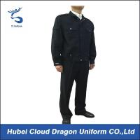 Buy cheap Dark Blue Police Security Officer Uniforms For Public Safety Protection from wholesalers