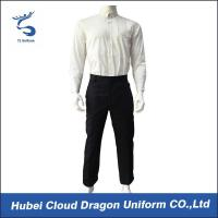Buy cheap Professional Police Security Guard Uniform , Private Security Uniforms Custom Color from wholesalers