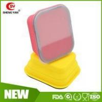 Wholesale Personalized Rectangular collapsible silicone lunch box for kids from china suppliers