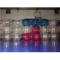 China Half Color Giant Inflatable Human Size Bubble Ball Top Quality Bumper Knocker Ball For Adult on sale