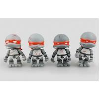 Wholesale Grey Customized Teenage Action Figure Mutant PVC Ninja Turtles Toy from china suppliers