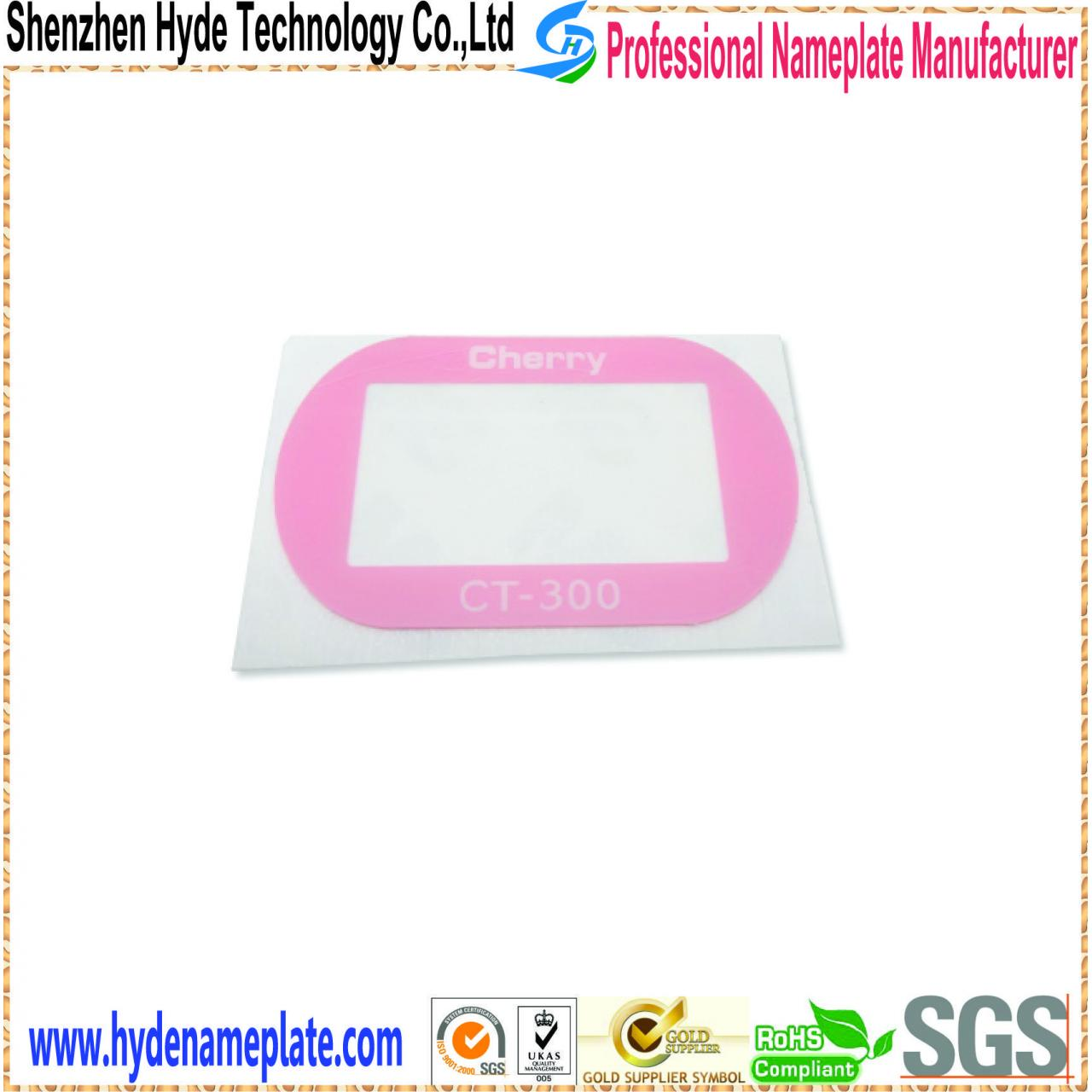 Wholesale 3D aluminum nameplate HY-HA2003 from china suppliers