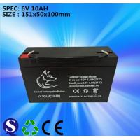 Wholesale Lead-acid battery 6V 10AH from china suppliers