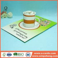 Wholesale Handmade Card Pop Up I Love You Card Template For Mothers Day from china suppliers