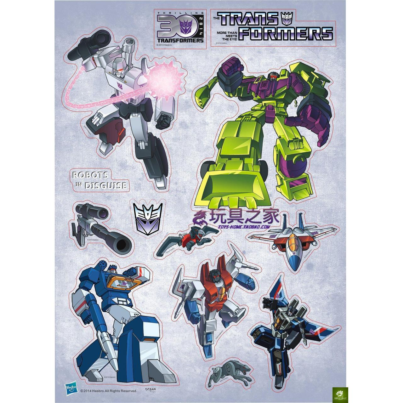 Wholesale Figure G1 Hasbro Transformers posted Wei Zhentian Hercules A4 Decepticon Starscream sticker from china suppliers