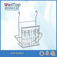 Wholesale factory wall hanging wire basket from china suppliers