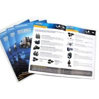 China custom company products brochure/catologue/catalog printing on sale