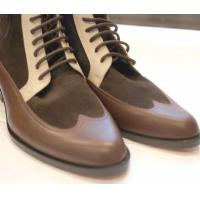 Wholesale Boots Men Luxury Handcrafted Lace Up Boots(Manchester) from china suppliers