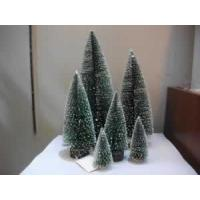 Buy cheap White Snow Oval Artificial Christmas Tree from wholesalers