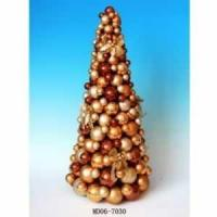 Buy cheap Shatterproof Christmas Ball Ornament Table Top Cone Tree from wholesalers