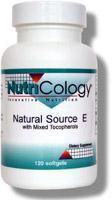 China Antioxidants NR Natural Source E 120 Softgels on sale