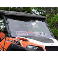 Wholesale Polaris General Scratch Resistant Vented Full Windshield from china suppliers