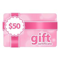 Wholesale $50 Gift Certificate from china suppliers