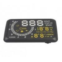 Wholesale W02 Car HUD Showing OBD Insert Head Up Display KM/h & MPH Speeding Warning OBD2 System from china suppliers