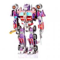 China 3D Cardboard Jigsaw Puzzles For Optimus Prime 566-A on sale