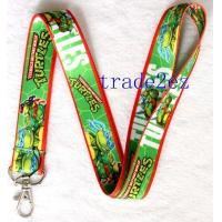 China 201662210137Teenage Mutant Ninja Turtles Cartoon Lanyard Green on sale