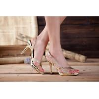China Stylish High Heel Sandals Ladies Party Shoes on sale