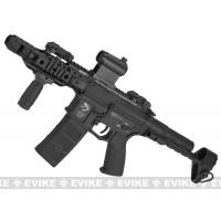 Buy cheap G&P MOTS M4 PDW Compact Airsoft AEG - Black from wholesalers